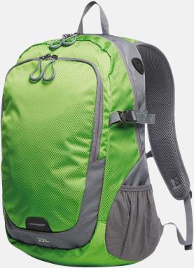 Apple Green (L) Sportiga ryggsäckar från Halfar med reklamtryck