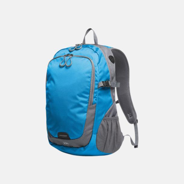Cyan (L) Sportiga ryggsäckar från Halfar med reklamtryck