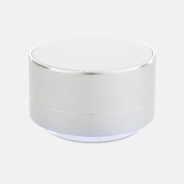 Silver 3W aluminiumhögtalare med reklamtryck