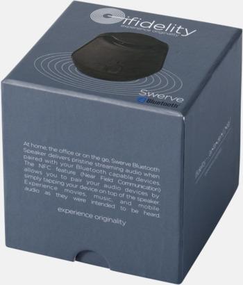 Presentförpackning Bluetooth- tillika NFC-högtalare med reklamtryck