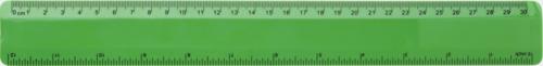 Grön Flexibla linjaler med reklamtryck