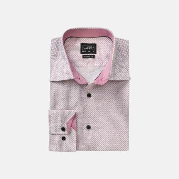 Rutiga skjortor med reklamtryck