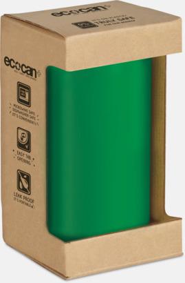 Förpackning Eko muggar med reklamtryck