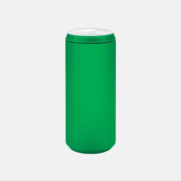 Grön Eko muggar med reklamtryck