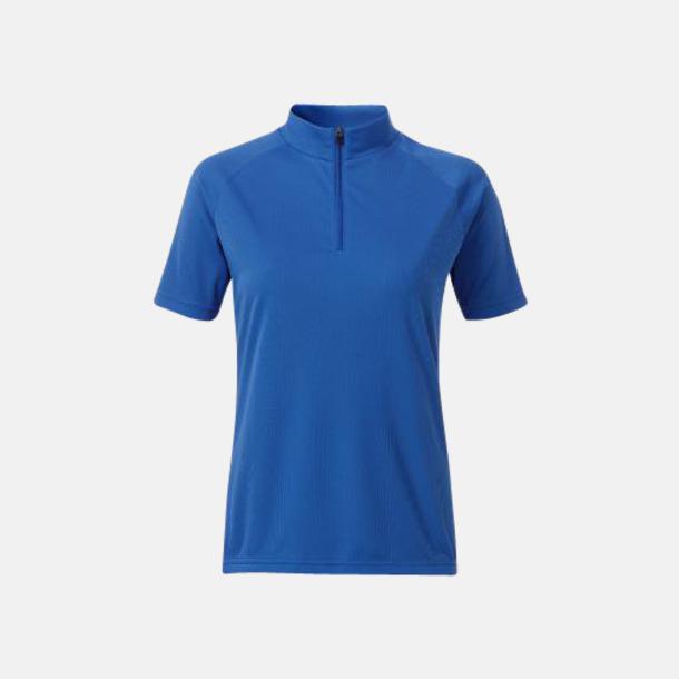 Royal (dam) Enfärgade cykeltröjor med reklamtryck
