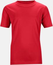 Funktions t-shirts för barn - med reklamtryck