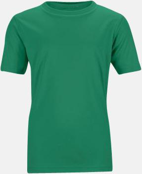 Grön Funktions t-shirts för barn - med reklamtryck
