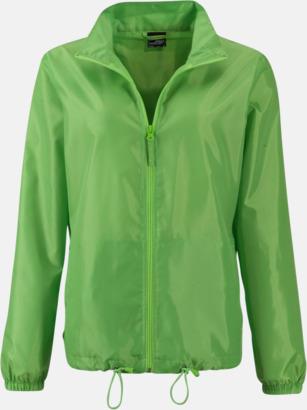 Spring Green (dam) Billiga vindjackor i herr- & dammodell med reklamtryck