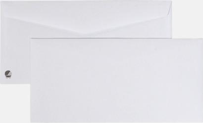 S65 fukthäftande Standardkuvert i många varianter med reklamtryck