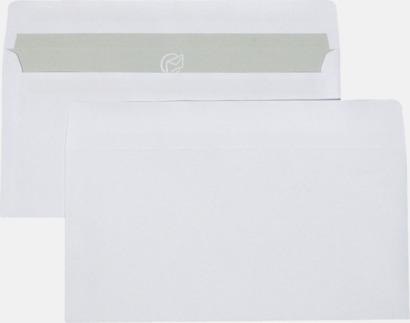 E65 självhäftande Standardkuvert i många varianter med reklamtryck