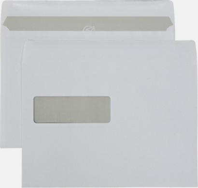 C5V2 självhäftande Standardkuvert i många varianter med reklamtryck