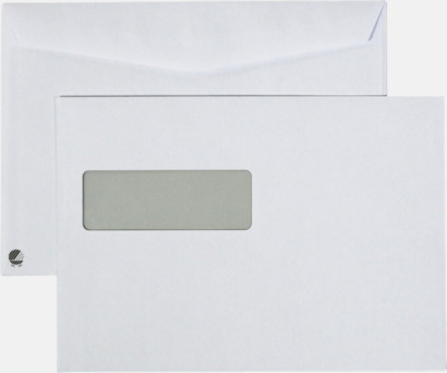 C5V2 fukthäftande Standardkuvert i många varianter med reklamtryck