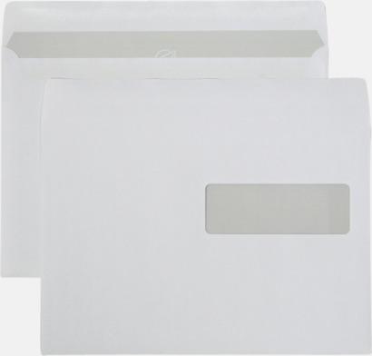C5H2 självhäftande Standardkuvert i många varianter med reklamtryck