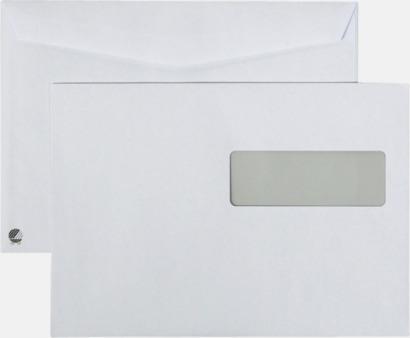 C5H2 fukthäftande Standardkuvert i många varianter med reklamtryck