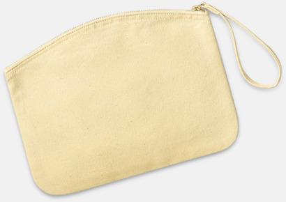 Pastel Yellow Eko plånbok eller necessär i 2 storlekar med reklamtryck