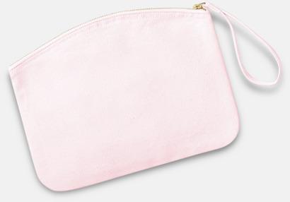 Pastel Pink Eko plånbok eller necessär i 2 storlekar med reklamtryck