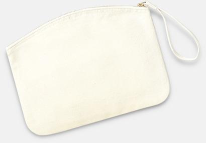 Natur Eko plånbok eller necessär i 2 storlekar med reklamtryck