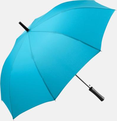 Petrol FARE-paraplyer med reklamtryck