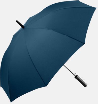 Marinblå FARE-paraplyer med reklamtryck