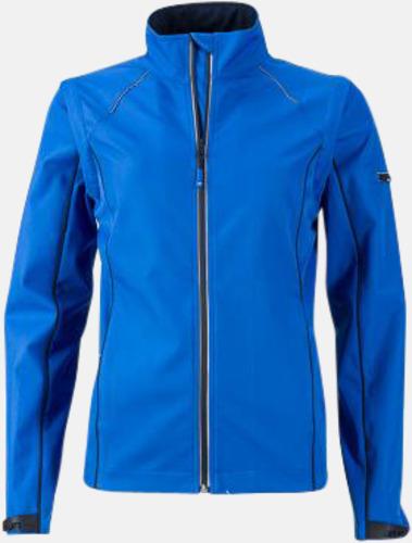 Nautic Blue/Marinblå (dam) Jackor med avtagbara ärmar - med reklamtryck