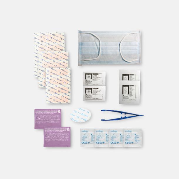Innehåll Första hjälpen kit for arbetsplatser - med reklamtryck