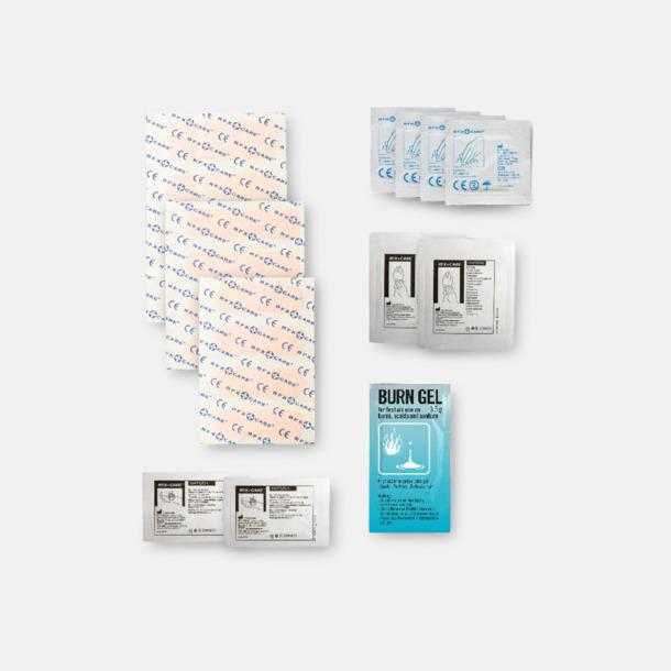 Innehåll Första hjälpen kit på kontoret - med reklamtryck