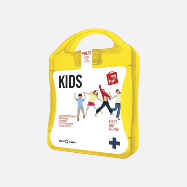 Gul Första hjälpen kit för barn - med reklamtryck