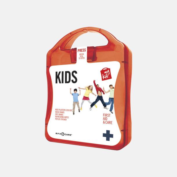 Röd Första hjälpen kit för barn - med reklamtryck