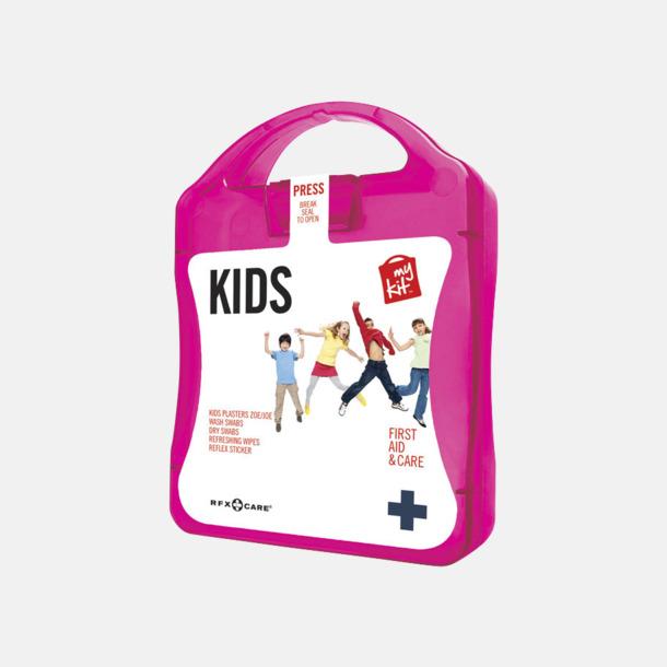 Magenta Första hjälpen kit för barn - med reklamtryck