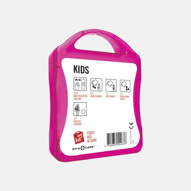 Baksida Första hjälpen kit för barn - med reklamtryck