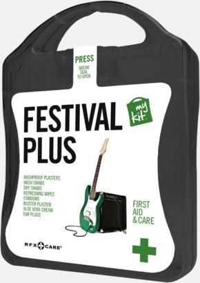 Svart Festivalkit med reklamtryck