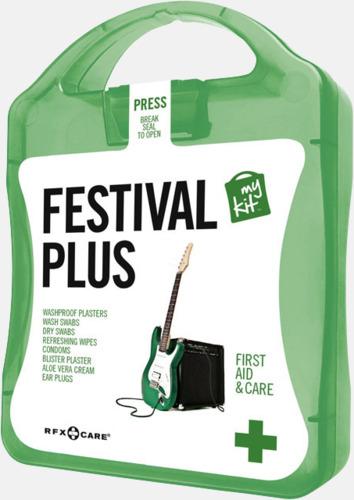 Grön Festivalkit med reklamtryck
