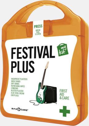 Orange Festivalkit med reklamtryck