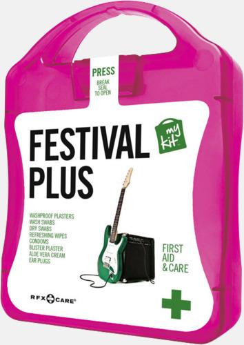 Magenta Festivalkit med reklamtryck