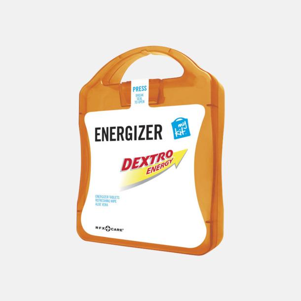 Orange Energifyllt första hjälpen-kit med reklamtryck