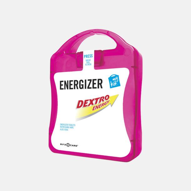 Magenta Energifyllt första hjälpen-kit med reklamtryck