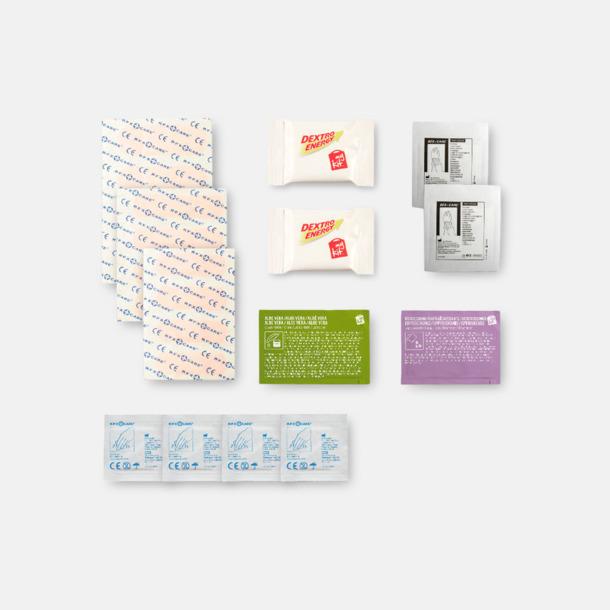 Innehåll Energifyllt första hjälpen-kit med reklamtryck