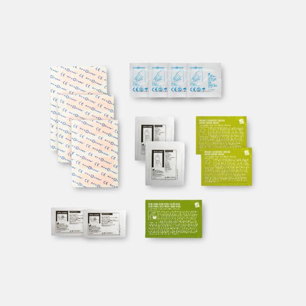 Innehåll Första hjälpen-kit vid insektsbett med reklamtryck