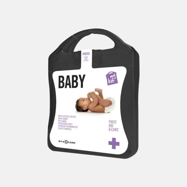 Svart Kit för nyblivna föräldrar - med reklamtryck