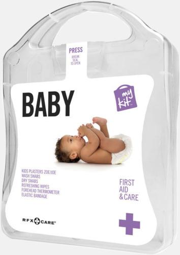 Vit Kit för nyblivna föräldrar - med reklamtryck