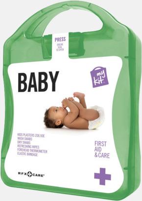 Grön Kit för nyblivna föräldrar - med reklamtryck