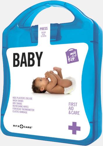 Blå Kit för nyblivna föräldrar - med reklamtryck
