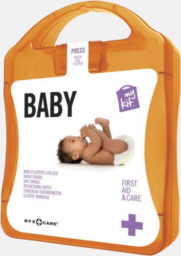 Orange Kit för nyblivna föräldrar - med reklamtryck
