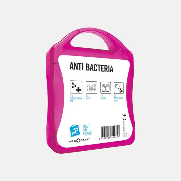 Baksida Antibakteriellt set med reklamtryck