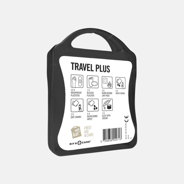 Travel plus aid kit med reklamtryck