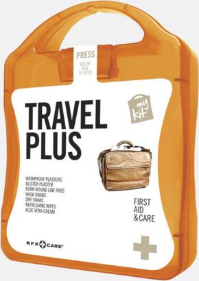 Orange Travel plus aid kit med reklamtryck