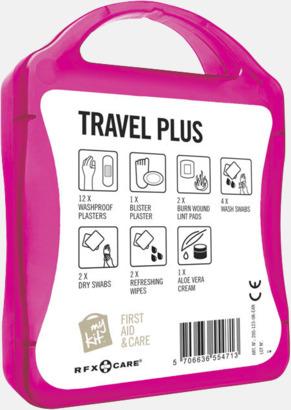 Baksida Travel plus aid kit med reklamtryck
