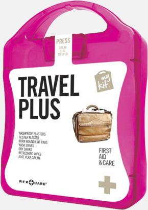 Magenta Travel plus aid kit med reklamtryck