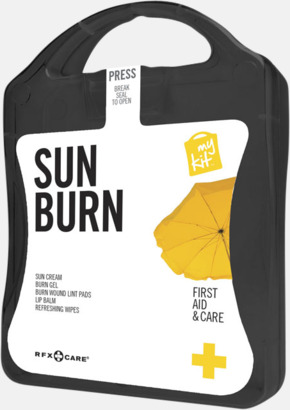 Svart Solskydds-kit med reklamtryck