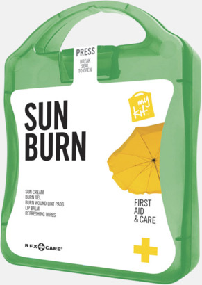 Grön Solskydds-kit med reklamtryck